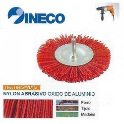 Escova circular com haste de arame ondulado Nylon Abrasivo
