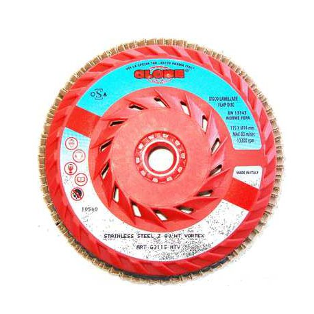 Disco de lamelas ventilado GLobe Z60 HT VORTEX