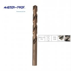 Brocas cobalto 6,75 - 13mm