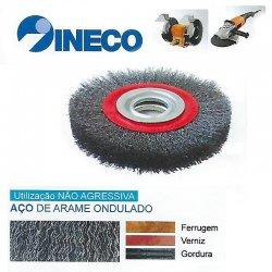 Escova circular de arame ondulado Aço